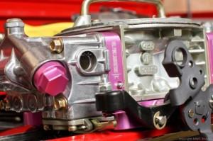 Pink Carburetor Close Up