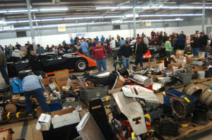 The 2012 Charlotte Racers Expo had a large quantity and high quality of auction lots in its first year. Cars, engines, overstocked new parts, enough parts were on hand in the auction to build a complete race car!